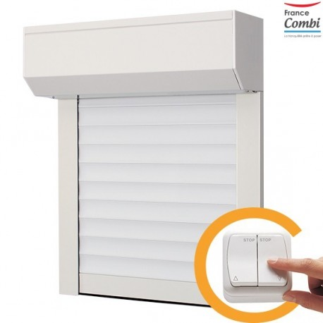 volet roulant filaire pvc combi volet. Black Bedroom Furniture Sets. Home Design Ideas