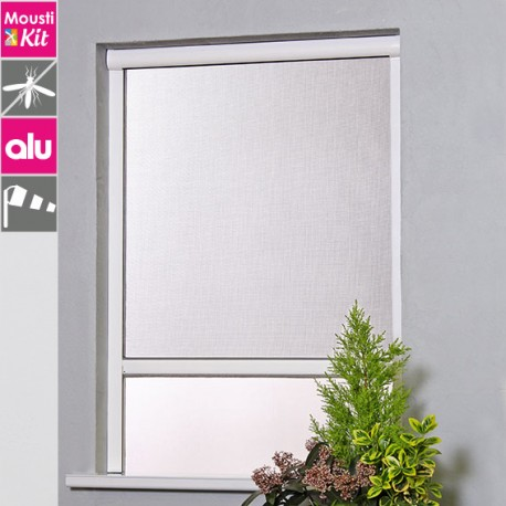 Profil aluminium pour moustiquaire
